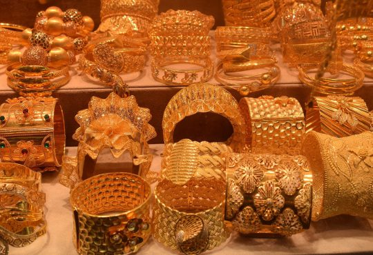 Gouden sieraden inwisselen